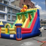 rodadero inflable