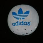 globo de helio adidas