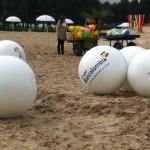 Balón Inflable Publicitario Bancolombia 2