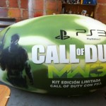 Dummies Inflable Publicitario Call of Duty