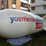 Dirigible Anclado Inflable Publicitario Yoarriendo