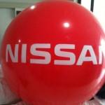 Balón Inflable Publicitario NISSAN