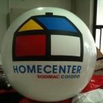 Balón Inflable Publicitario HOMECENTER