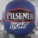 Esfera de Helio Inflable Publicitario Pilsener