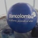 Balón Inflable Publicitario Bancolombia