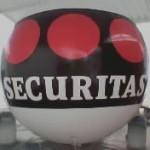 Esfera de Helio Inflable Publicitaria Seguritas