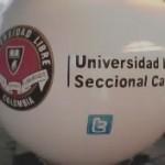 Esfera de Helio Inflable Publicitaria Universidad Libre Cali