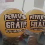 Balón Inflable Publicitario Perfume Gratis