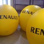 Esfera de Helio Inflable Publicitaria Renault