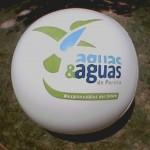 Balón Inflable Publicitario aguas&aguas