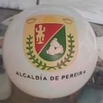 Balón Inflable Publicitario Alcaldía Pereira