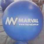Balón Inflable Publicitario Marval