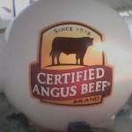 Esfera de Helio Inflable Publicitaria Certified Angus Beef
