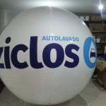 Esfera de Helio Inflable Publicitaria Ziclos
