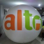 Esferas de Helio Inflables Publicitarias alto