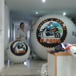 Esferas de Helio Inflables Publicitaria Motos&Motos