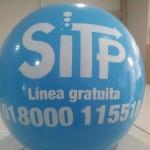 Balón Inflable Publicitario SITP