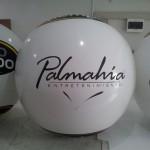 Globo Inflable Móvil Publicitario Palmahia