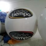 Globo Inflable Móvil Publicitario Radio Tiempo