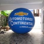 Esfera de Helio Publicitaria Chevrolet