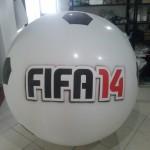 Balón Inflable Publicidad Fifa