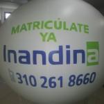 Balón Inflable Publicitario Inandina